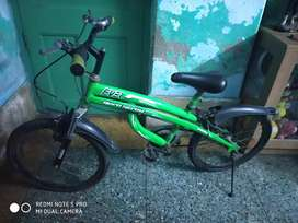 One year sparingly used kids bicycle