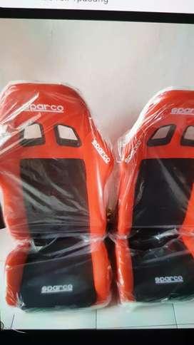 Jol Racing Sparco Merah BONUs rell 1pasang