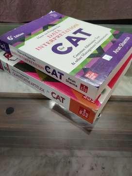 CAT book Arun Sharma : Data Interpretation and Quantitative aptitude