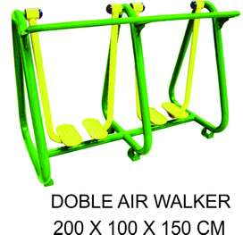 Baru Outdoor FItness Double Air Walker Murah Garansi 1 Tahun