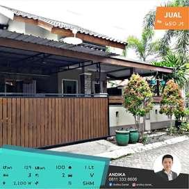 Rumah Minimalis Modern Siap Huni di Kota Jember