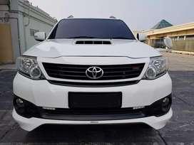 Toyota New FORTUNER 2.5 VNT TRD 2013 - Km 40RB Asli Antik Istimewa !!!