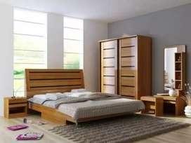Dipan tempat tidur anak dewasa utama minimalis antique ukuran reques