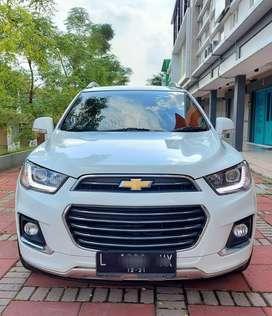 Chevrolet Captiva 2.0 LTZ Diesel AT tahun 2016 Putih Istimewa