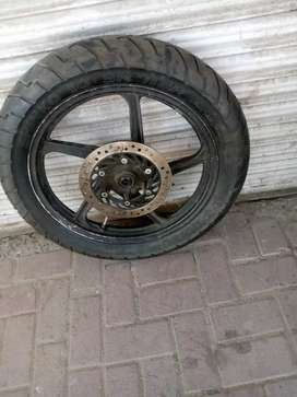 Brand new imported tyres plus used imported alloy rims 18 inch