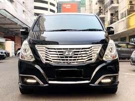 Hyundai H-1 2.4 Royale 2016 Matic Hitam (km 19rb) *autowhiz*