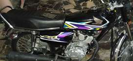 Honda 125 new model num LGA ha good condition ha service3free