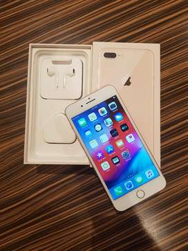 8 plus new mobile 256gb % best offer