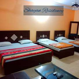 Fully Furnished portions available for short stay in Gulshan-e-iqbal