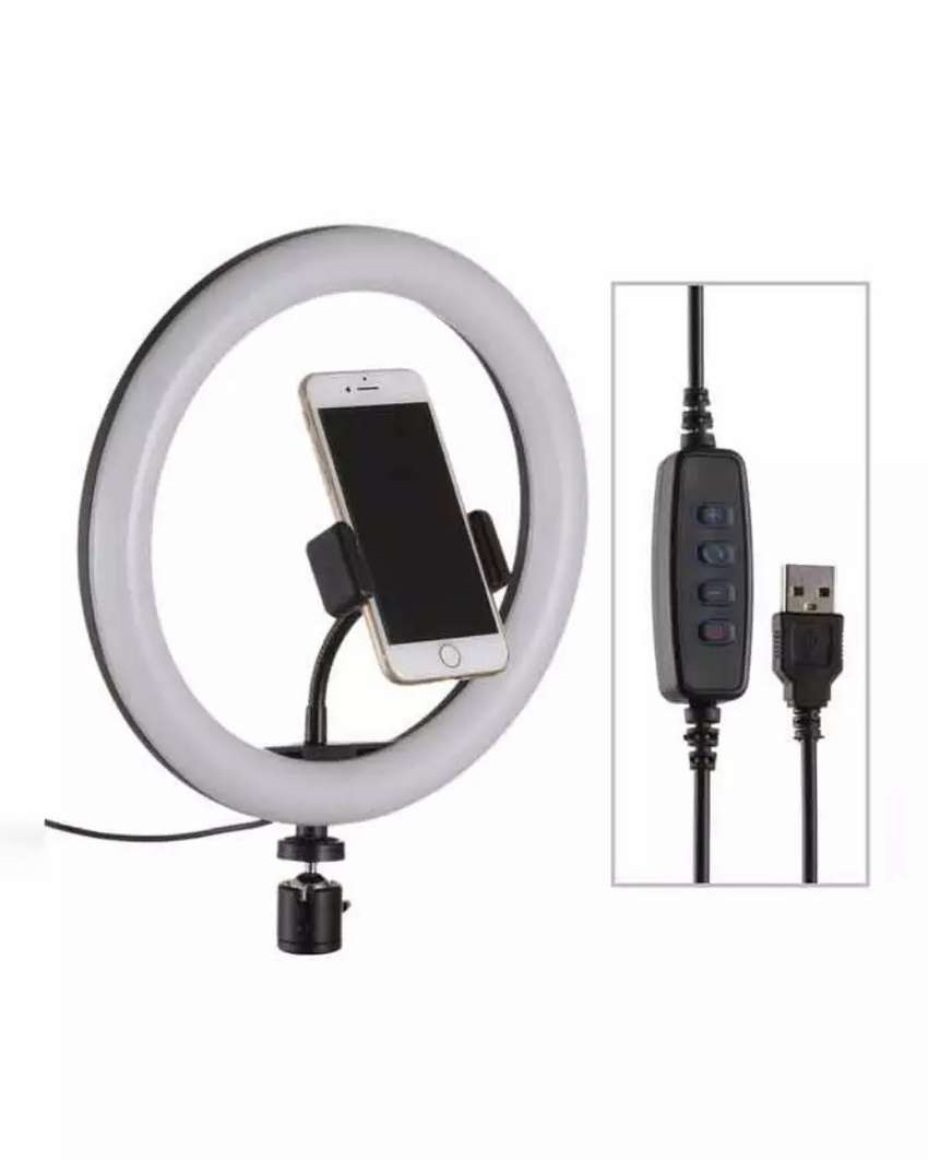 selfie ring light for makeup and tikktok users 0