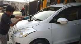 Kaca film salon mobil peredam suara kabin power window alarm remot gps