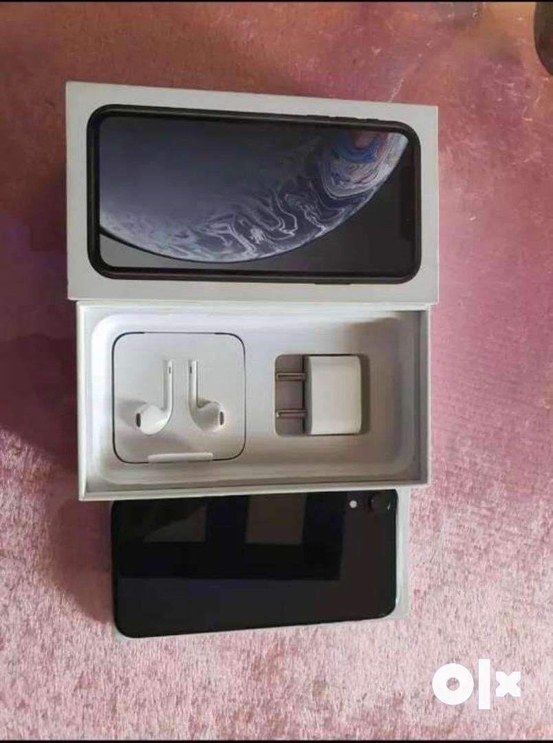 Iphone xr 128 with bill box indian pic full kit 0
