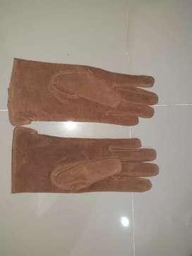 Sarung tangan Kulit suede Uk L (Adventure Bound)