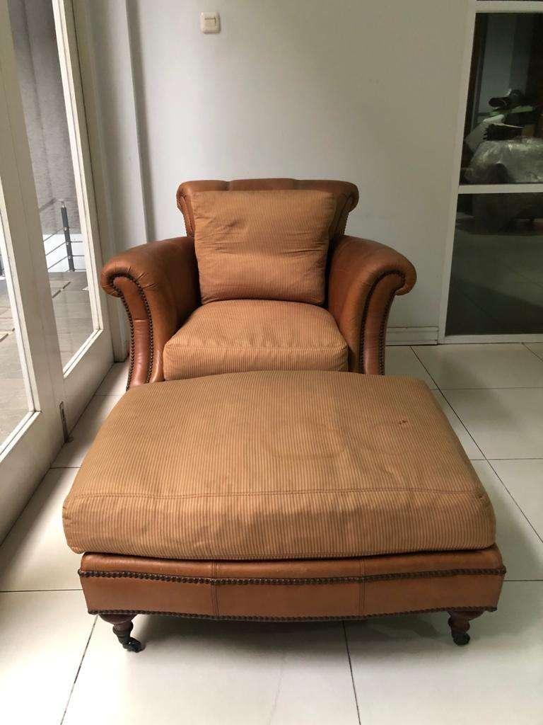 Sofa Bangku Kursi untuk santai material leather kulit mix fabric kain 0