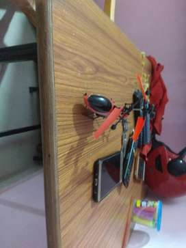Red And Black RC Helicopter