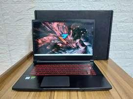 Laptop MSI GF63 Intel Core i7-9750 Ram 8 GB SSD 256 GB
