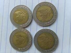 Uang kuno Rp 1000,- gambar kelapa sawit