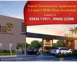 At Patancheru Gated Apart 2,3&4 Bhk Flats for Sale