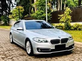 BMW 528i Luxury F10 LCi Facelift 2014 Full Option Glaciersilber Color