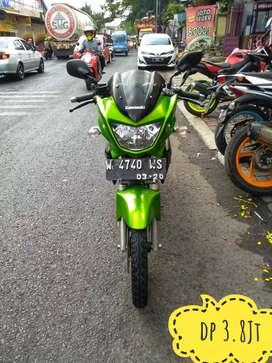 Ninja R 2015 ijo royo2 unit langka murah aja bro, Mustika Motor Sukun