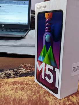 Samsung M51 - 6 Months Warranty