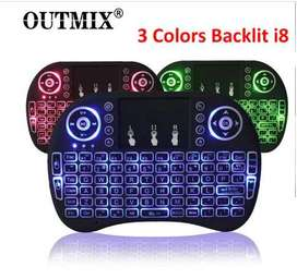3 Colors  Mini Wireless Keyboard Free Home Deliver