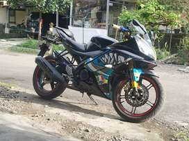 Yamaha R15 2014 modif simple TT matic / ajukan