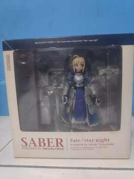Revoltech Saber Fate Stay Night BIB Original