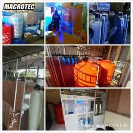 Depot air isi ulang peralatan