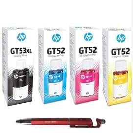 New HP GT 52 Color Ink Bottle Rs 550 Per Color...