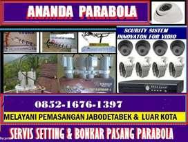 Setting parabola dan antena tv digital jakarta timur'