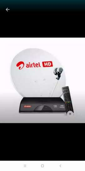 AIRTEL DTH HD OR XSTREAM CONNECTION