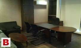 Furnished office available for rent in commercial market