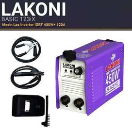 Mesin las lakoni 450watt basic 123IX