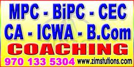 Part time job as tutor for maths physics chemistry Mpc bipc cec in hyd