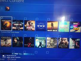 PS4 jailbreak 500 GB 15 games 10 o 10