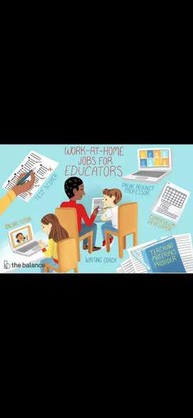 WORK FROM HOME FOR TEACHERS AND STUDENTS