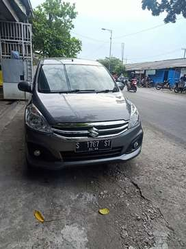 Ertiga GL manual 2017 abu2 metalik..km 65rb