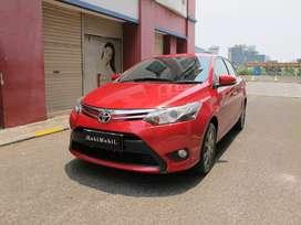 Toyota Vios G at 2014 merah Nopol Ganjil