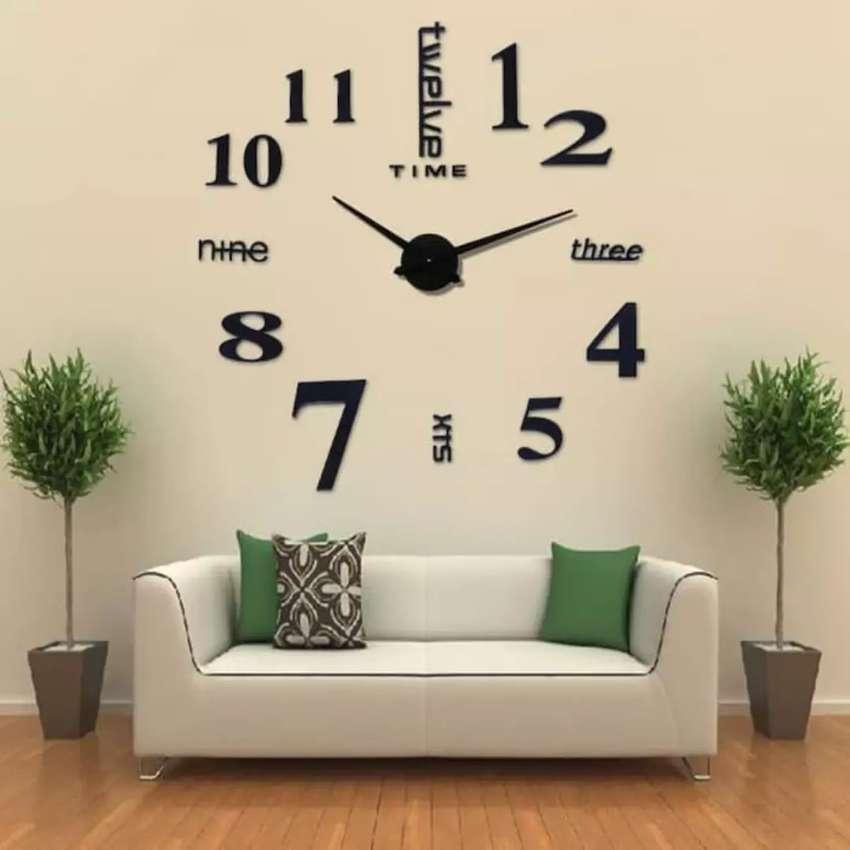 Jam Dinding Angka Besar Raksasa 3D (COD alamat rumah) 0