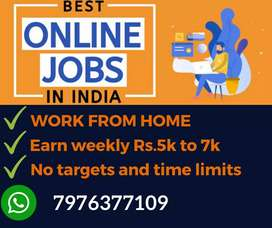 Simple typing work. Earn daily Rs.1000/-. Limited vacancies. Apply now