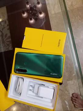 Realme 5I In Green warrenty expire 14/04/2021 with complete Box