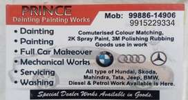 Free Rubbing & Polishing Dainting painting works chandigarh