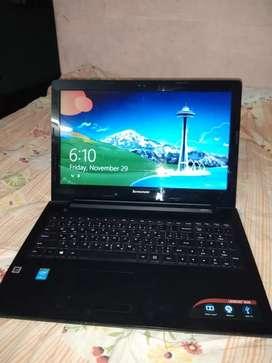 Laptop lenova i5