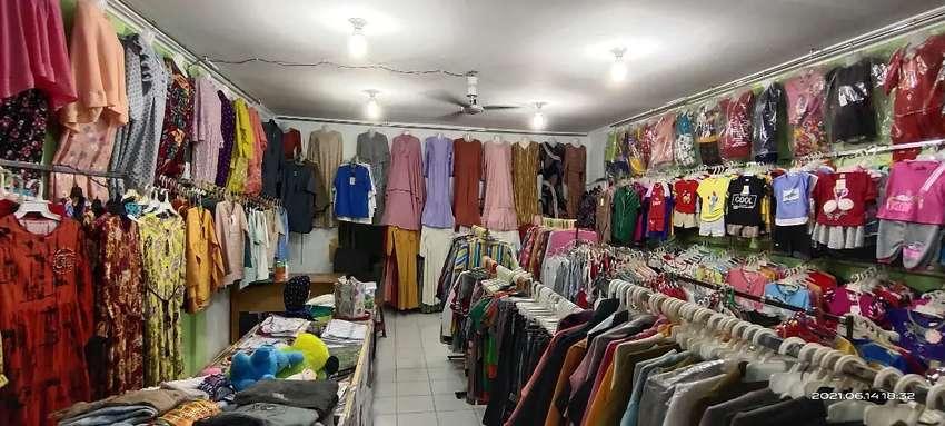 take over toko pakaian...