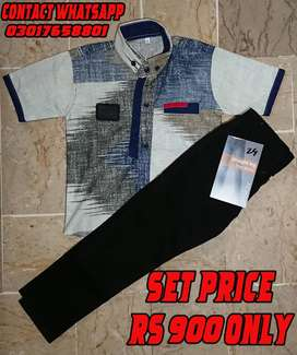 kids boy pant and shirt ! Baby Boys pant & shirt Size for 6 to 12 year