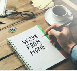 Home Work and Best Income weekly salary 13000/