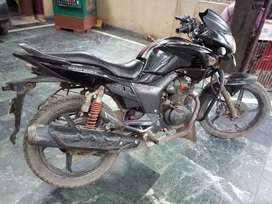 Well maintained Hero honda Hunk model sep. 2012last for sale