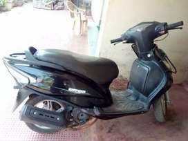TVS Wego for sale, running condition with self start and single owner.