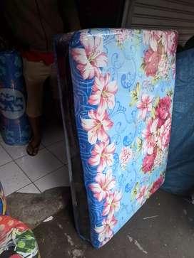 Kasur busa lipat motif bunga free ongkir